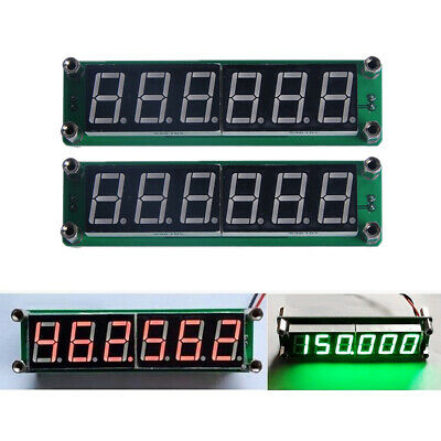 Set Of 2 Plj-6led-h Digital Display Signal Frequency Counter Cymometer Tester