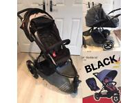 Phil & Teds Navigator pushchair - new carrycot & new double kit