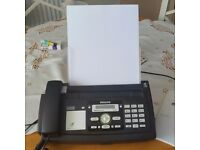 Phillips Magic 5 Eco PPF 675 Fax Machine c/w telephone. Good condition, hardly used.