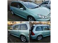 Peugeot 307sw 2.0l hdi 7 seater
