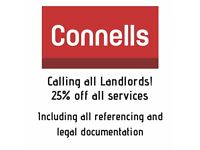 **LANDLORDS**25% OFF TENANT FIND SERVICES**OFFER ENDING SOON**