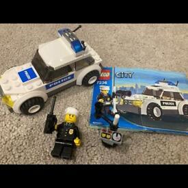 Lego city 7236 police car