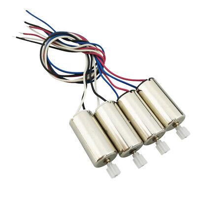 4pcs Motor gegen Uhrzeigersinn und im Uhrzeigersinn mit Kunststoff