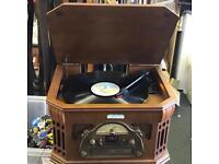 Steepletone retro music system