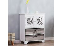 Cherry Tree Furniture White Paulownia Wood Sideboard Drawer Chest only 5 in stock