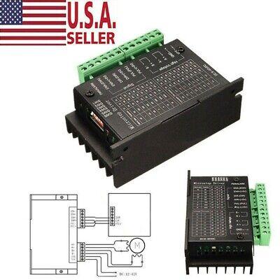 Tb6600 Stepper Motor Driver Controller 4a Ttl 16 Micro-step Cnc 1 Axis Usa