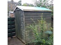 7 X 5 ft shed