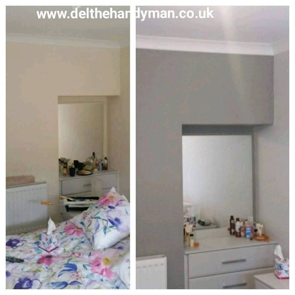 2 rooms painted just £150!! CHRISTMAS OFFER. 1 day makeover!