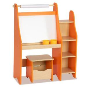 Kids Art Master Drawing Desk Easel Artist Activity Storage W/ Stool Studio Set - BRAND NEW - FREE SHIPPING