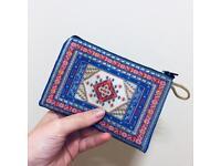 Carpet style purse