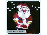 Santa Window Light