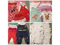 Girls 6-9 Months Clothes Bundle Over 40 Items!