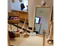 Magic Mirror Photo Booth - From £299 - Vintage, Floral and Regal Set-ups