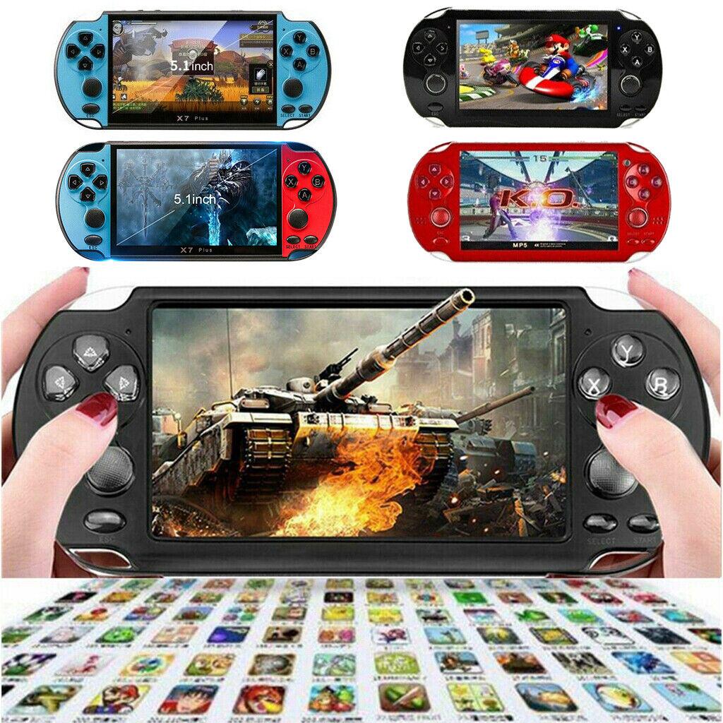 X7 X9 8GB Handheld PSP Spielkonsole Playe Spiele Tragbare Retro Game Konsolen