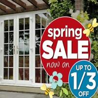 PATIO DOORS ☀ SPRING SALE ☀ SAVE 1/3 RD OFF NOW !