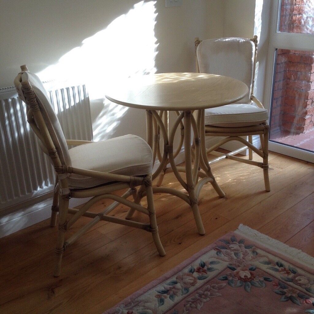 Small occasional table and chairs