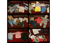Baby boys 3-6 months. Big bundle. More than 70 items. F&F, H&M, Next, Early Days