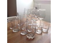 Home clearance : Wine glass, water glass, beer glass