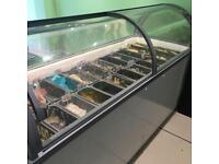 Boston 210 Gelato Ice Cream Display Freezer