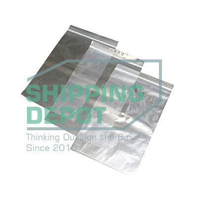 1 Sample 9x12 Ziplock 4mil Reclosable Resealable Clear Plastic Poly Bags