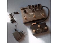 Strymon Timeline with DS Multiswitch & Stereo cable