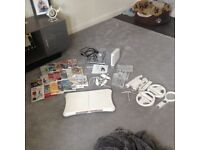 Nintendo wii good working condition games in perfection condition