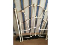 Cast bed frame