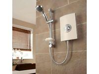 Triton Collection II Aspirante Electric Shower Riviera Sand 8.5kW - BRAND NEW - UNDER HALF PRICE!!