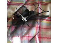 Jacques Vert fascinator in black - worn once!