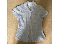 Cute Beach Stripe Shirt from H&M Size 8