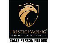 FREELANCE E-Cig distributor salesmen wanted