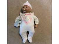 Baby Annabell doll and clothing bundle
