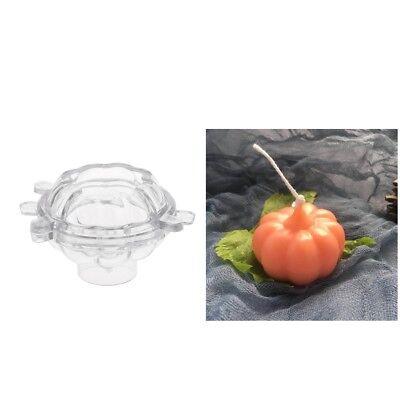 Kunststoff Kerzenform Seifenform Werkzeug Kerze machen (3d-kürbis)