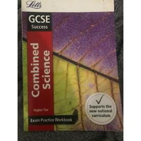 2 Exam Practice Workbooks: Combined Science & Chemistry. GCSE higher tier.