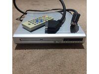 DVD player & remote