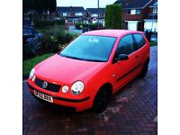 VW POLO 1.4 RED 3 DOOR PETROL 61k £1100!!