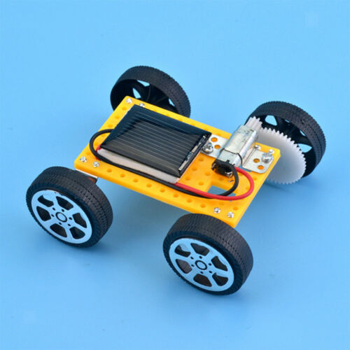 Solar Power Car Physics Learning Resource Assembling Toy Gif