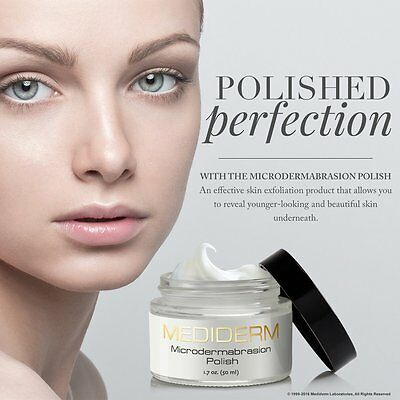 MediDerm Microdermabrasion Skin Polish & Exfoliation Cream + Reduced Blackheads