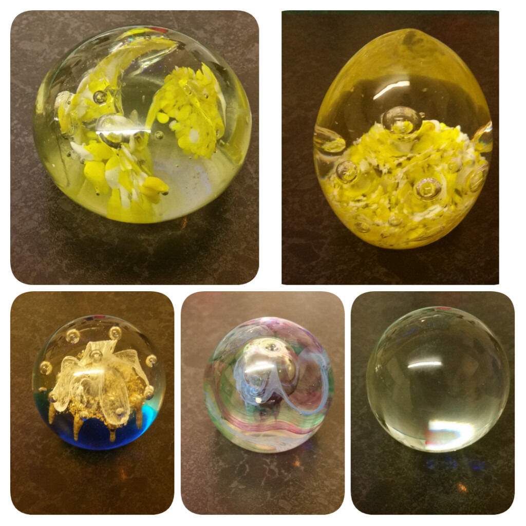 Glass Paperweightsin Wolverhampton, West MidlandsGumtree - Glass Paperweights. £4 Each NO OFFERS. Collection WV10 Scotlands Wolves. Can Deliver But Would Charge Extra For Fuel