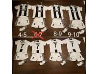 Juventus Ronaldo celtic man United kits / tops