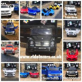 12v Ride-On Cars,Open Fri 2.30 To 7.30 Weekend From 12 To 7.30,Parental Remote & Self DriveFrom £100
