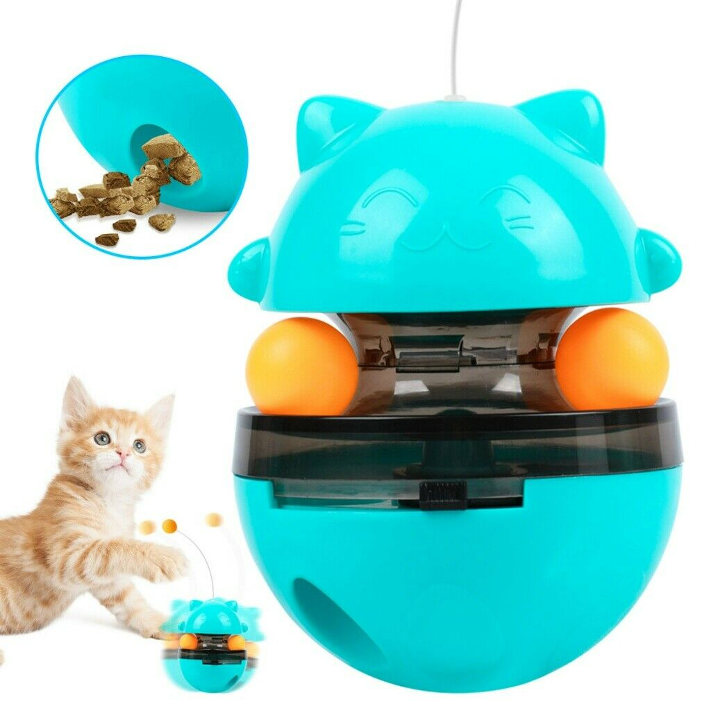 Katzenspielzeug, Interaktives Katzenspielzeug,Tumbler Intelligenz Spielzeug