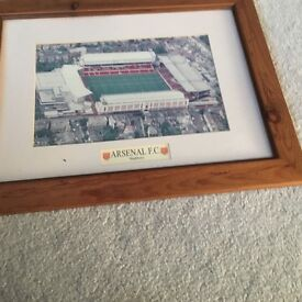 Arsenal picture for sale Highbury