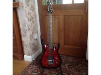 Washburn KC-42V in superb condition, plays brilliantly with ultra low action.