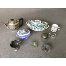 Selection of vintage items - £2 each