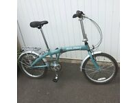Folding raleigh bike. As new