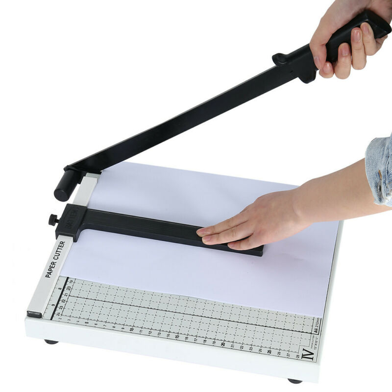 12 Inch A4 To B7 Heavy Duty Guillotine Paper Cutter Photo T-
