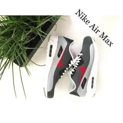 BRAND NEW Nike Air Max 90 Ultra size 8. Dark Gray, white and (Nike Air Max 90 Red And Grey)