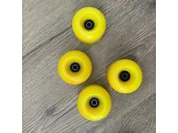 Roller Skate Wheels Yellow 4