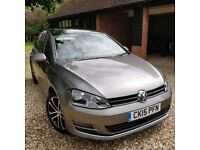 "VW Golf GT 150 BHP, BMT, ACT, 5 DR, + Sunroof, 17"" Singapore Alloys & Metallic Limestone Grey paint"